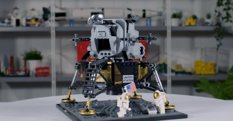 """بهذه المناسبة أطلقت ليغو مجموعة """"Apollo 11 Lunar Lander"""""""