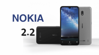 أبرز المواصفات الفنية والتقنية لهاتف نوكيا 2.2 مقارنة مع ريدمي 7 إي