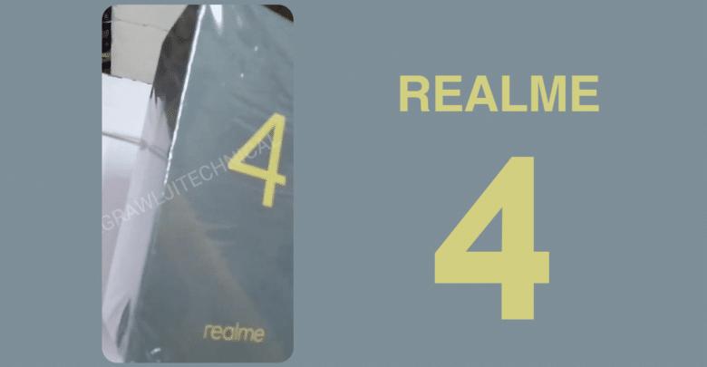 فيديو مسرب لهاتف Realme 4 داخل علبة!