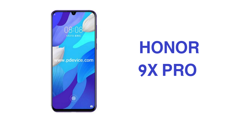 تسريب متغيرات هاتف Honor 9X Pro إلى جانب مواصفاته الرئيسية