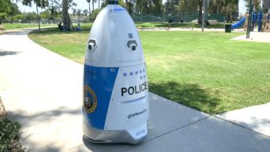 """شرطة كاليفورنيا تنشر """"رجالا آليين"""" لتأدية هذه المهمة في شوارعها!"""