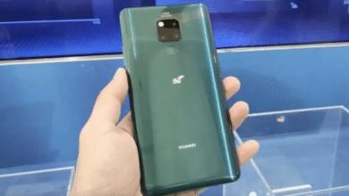 هاتف هواوي Mate 20 X 5G يدعم شريحة SIM المزدوجة
