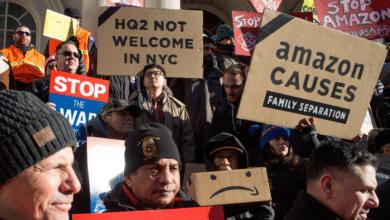 عمال أمازون يشنون إضرابا في جميع أنحاء أوروبا والولايات المتحدة