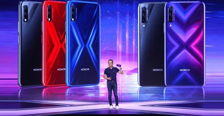 الكشف رسميا عن هاتفين جديدين 9X و9X Pro من شركة هونور الصينية