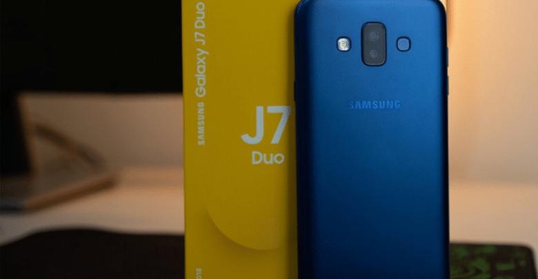 جهاز Galaxy J7 Duo يحصل على تحديث Android Pie