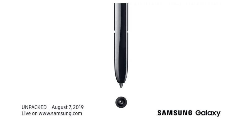 شركة سامسونج تعلن عن موعد إطلاق Galaxy Note 10