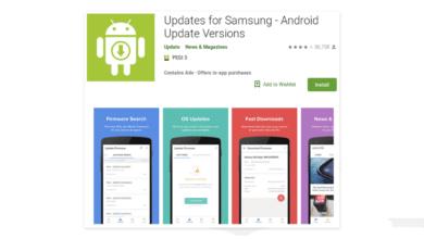 تطبيق مزيف خاص بسامسونج متوفر على متجر جوجل بلاي!
