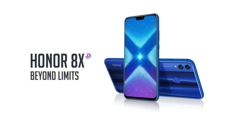 عدد مبيعات الهواتف الذكية من سلسلة Honor 8X تتجاوز 15 مليون وحدة