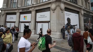 مايكروسوفت تفتتح أول متجر لها في أوروبا