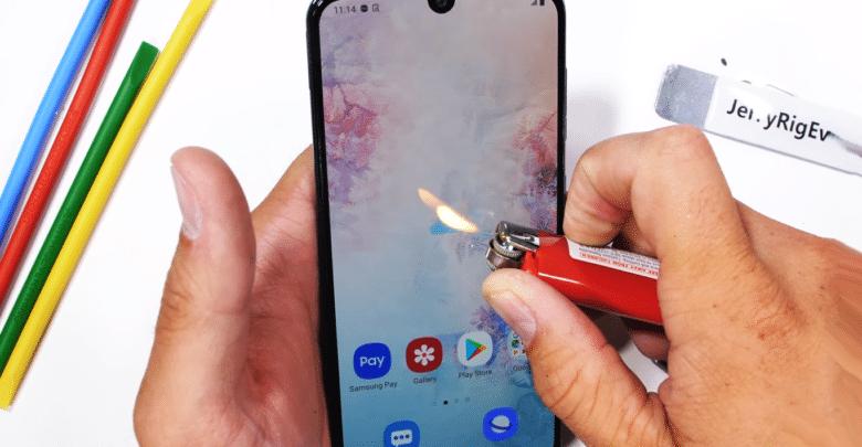 هاتف Galaxy A50 يتعرض لإختبار قاسي فهل سينجو؟