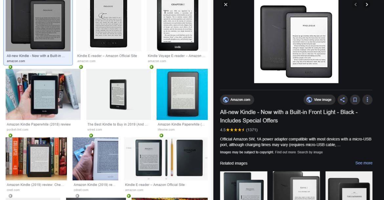 جوجل يجري تحديثا على قسم الصور للتركيز على التسوق
