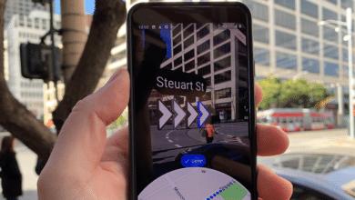 جوجل تضيف ميزة الواقع المعزز إلى خرائطها إلى جانب ميزات أخرى
