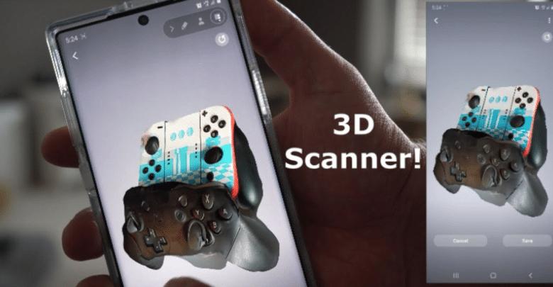 سامسونج تكشف عن تطبيق 3D Scanner خاص بـ Note 10+