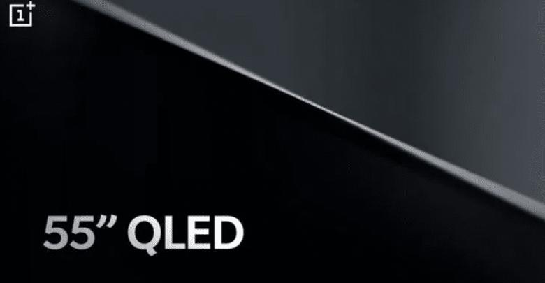 """تلفزيون """"ون بلس"""" يتميز بشاشة QLED مقاس 55 بوصة"""