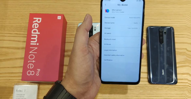 مواصفات فنية وتقنية لجهاز Redmi Note 8 Pro من شاومي
