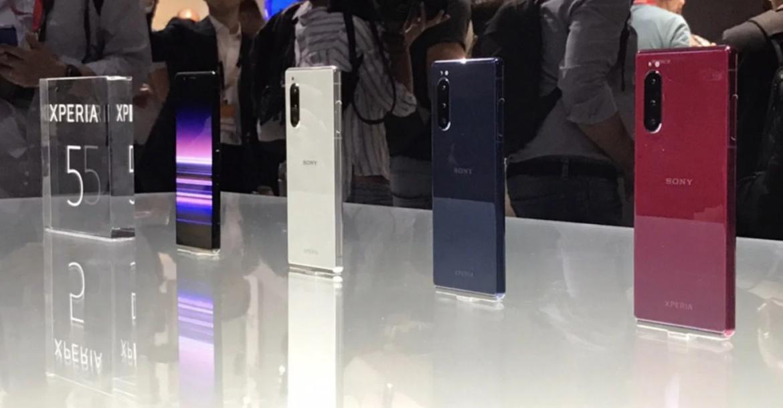 سوني تكشف رسميا عن هاتفها Xperia 5 في برلين