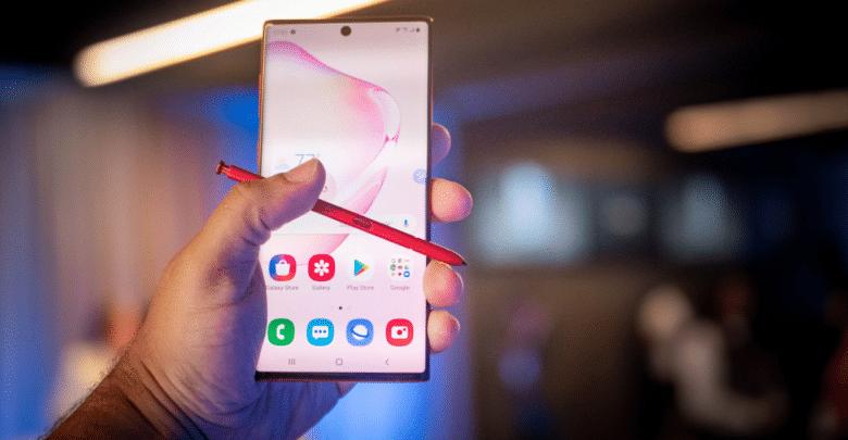 هاتف Galaxy Note 10 + من سامسونج يحصل على تصحيح الأمان