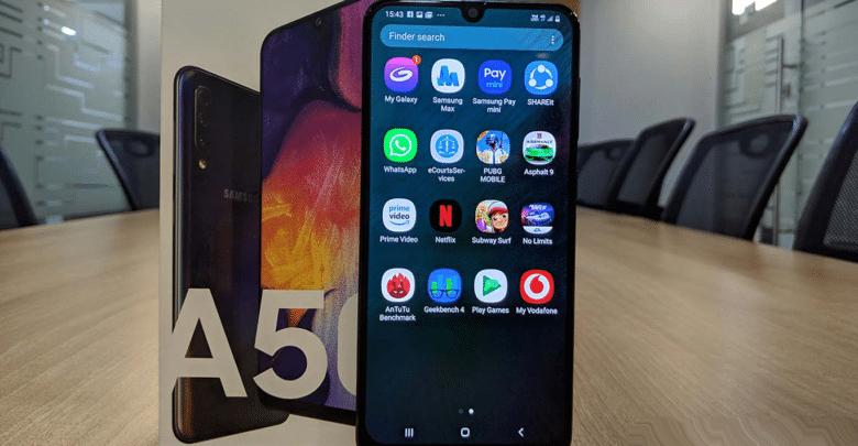 سامسونج تقدم تحديث لهاتفها Galaxy A50 لتحسين أداء شاشة اللمس