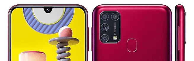 موضع كاميرا جهاز Samsung Galaxy M31