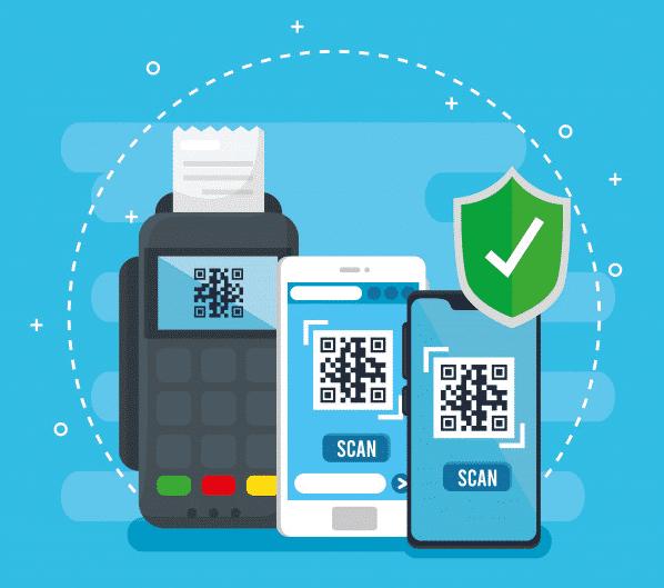 صورة لرمز الاستجابة السريعة (QR Code) الذي يحمي من اختراق حساب واتساب